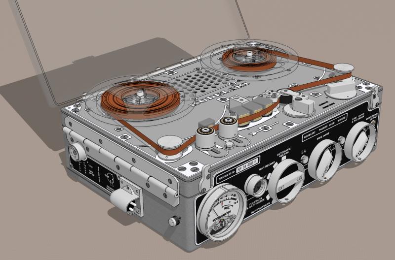 Nagra Iii Tape Recorder Sketchucation 1
