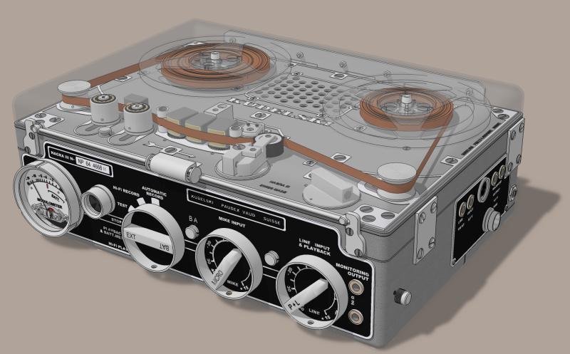 Nagra III Tape Recorder • sketchUcation • 1