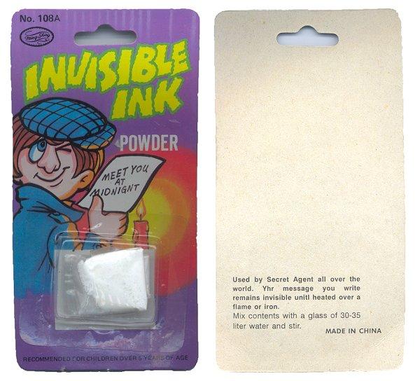 unigami.com - invisible ink